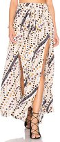 Free People Remember Me Maxi Skirt in Beige. - size 0 (also in )