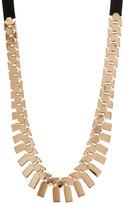 Natasha Accessories Fringe Frontal Necklace