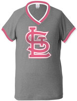5th & Ocean Girls' St. Louis Cardinals Triple Flock T-Shirt