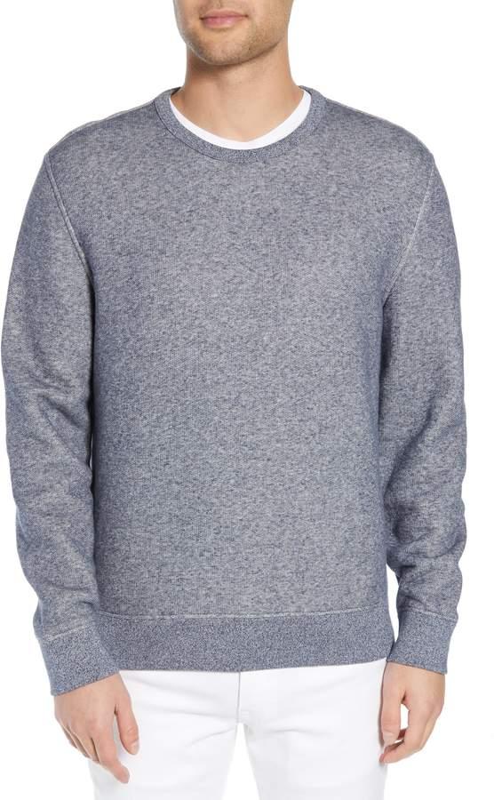 Vince Slim Fit Crewneck Cotton Sweatshirt