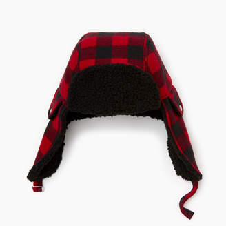 Roots Park Plaid Trapper Hat