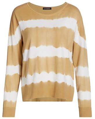Piazza Sempione Tie-Dye Long-Sleeve Sweater