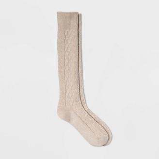 Universal Thread Women' Diamond Cable Knee High Boot ock - Univeral ThreadTM 4-10