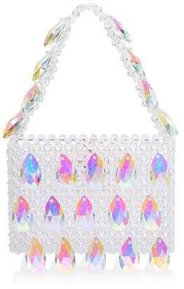 Susan Alexandra Glinda Applique Beaded Bag