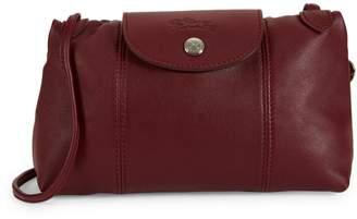 Longchamp Le Pliage Leather Crossbody