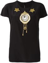 Dolce & Gabbana appliqué clock top