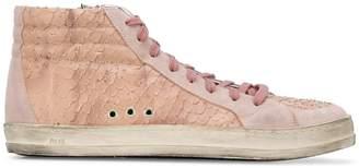 P448 Kate snakeskin-effect sneakers