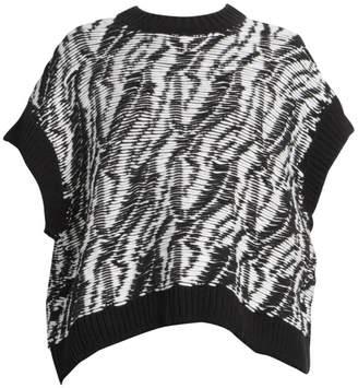 Loewe Textured Short-Sleeve Sweater