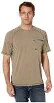 Ariat Rebar Sunstopper Short Sleeve Tee (Brindle) Men's T Shirt