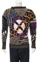 Vivienne Westwood Patterned Bateau Neck Sweater