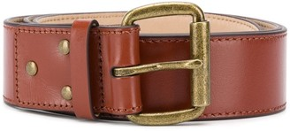 Acne Studios Unisex Leather Belt