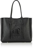 Lanvin Women's Tasseled-Handle Small Shopper Tote-BLACK
