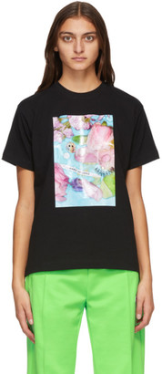 Marc Jacobs Black Maisie Cousins Edition Graphic T-Shirt