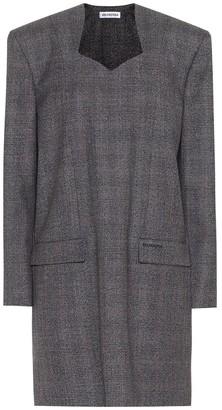 Balenciaga Wool minidress