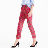 J.Crew Collection Party pj pant in Ratti® hibiscus herringbone print
