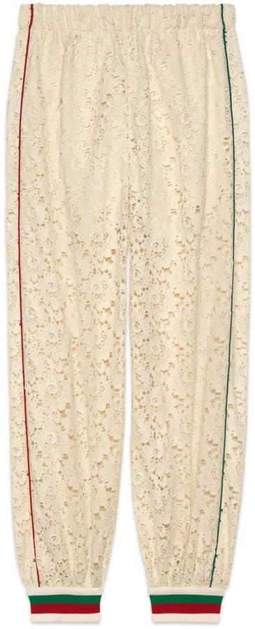 38d3c3c78c01 Gucci Lace Pants - ShopStyle