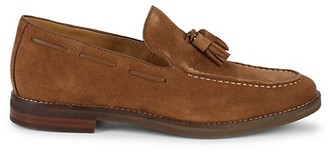Sperry Gold Cup Exeter Tassel Suede Penny Loafers