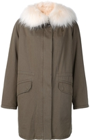Yves Salomon Fox Fur Parka