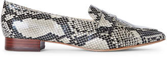 Marc Fisher Natural Feud Snakeskin-Effect Penny Loafers