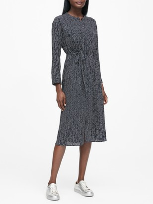 Banana Republic JAPAN EXCLUSIVE Print Midi Shirtdress