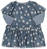 Stella McCartney Infants' Glitter-Star-Embellished Tulle Dress