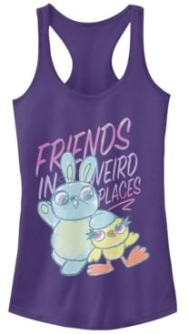 Disney Pixar Juniors' Toy Story 4 Friends Sketch Ideal Racerback Tank Top
