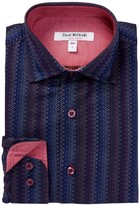 Isaac Mizrahi Premium Zigzag Shirt (Toddler, Little Boys, & Big Boys)