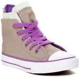 Converse Chuck Taylor All Star Zip Back Hi Top Sneaker (Big Kid)