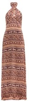 Johanna Ortiz Traditions Of Traditions Crepe-georgette Dress - Womens - Pink Multi