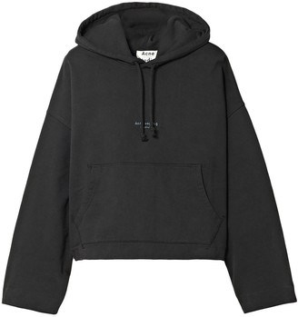 Acne Studios Printed French Cotton-terry Hoodie