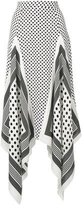 Altuzarra Boom asymmetric skirt