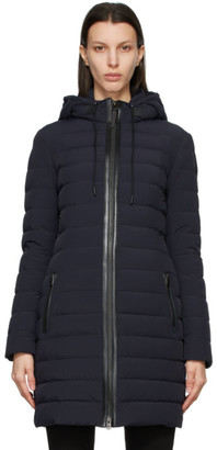 Mackage SSENSE Exclusive Navy Down Calna Coat