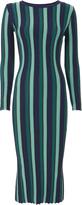 Knitss Striped Knit Dress