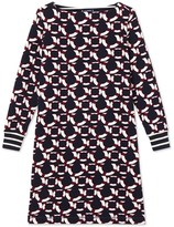 Petit Bateau Womens cotton fleece dress