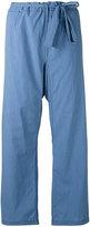 Hache loose-fit trousers - women - Cotton - 42