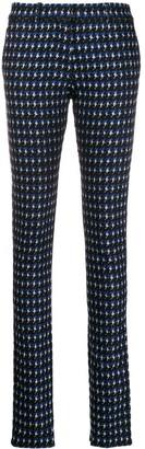 Victoria Beckham Ankle Split Trousers