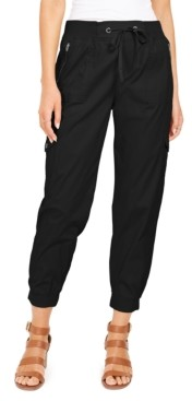 Style&Co. Style & Co Zip-Pocket Joggers, Created for Macy's