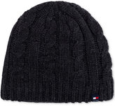 Tommy Hilfiger Men's Fleece-Lined Cable Hat
