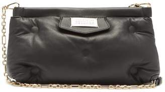 Maison Margiela Glam Slam Leather Cross Body Bag - Womens - Black