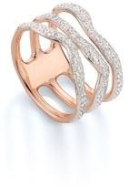 Monica Vinader Women's 'Riva' Three Band Diamond Ring
