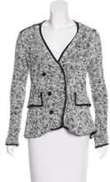 Thakoon Collarless Button-Up Jacket
