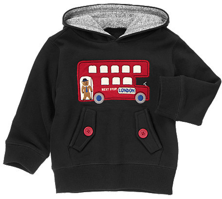 Gymboree London Bus Pullover Hoodie