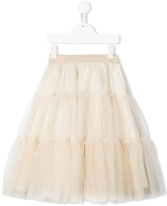 Lapin House Layered Tulle Skirt