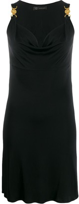 Versace Medusa medallion detail short dress