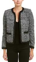 The Kooples Tweed Wool-blend Blazer.