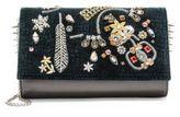 Christian Louboutin Paloma Embellished Convertible Clutch