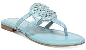 Sam Edelman Women's Canyon Medallion Flat Sandals Women's Shoes