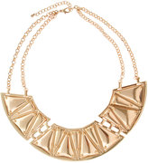 ASOS Statement Necklace with Articulated Plates and Screw Detail