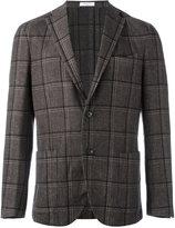 Boglioli plaid single breasted blazer - men - Cupro/Wool/Cashmere/Linen/Flax - 48