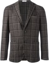 Boglioli plaid single breasted blazer - men - Linen/Flax/Cupro/Cashmere/Wool - 48